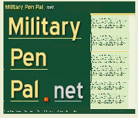 Pen pals online military Military PenPals